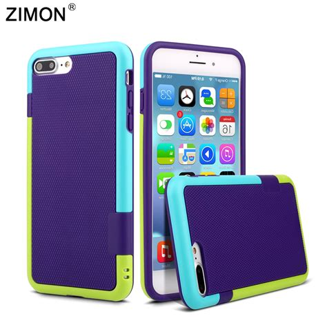 Armor Hybrid Clear Back Soft Casing Cover Apple Ip Murah for iphone 7 matte armor silicone hybrid gel soft cover for apple iphone 5 5s se 6 6s plus
