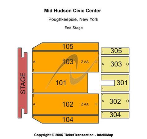 mid hudson civic center seating chart sesame live tickets seating chart mid hudson
