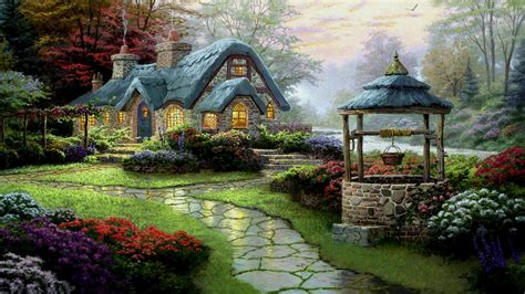 Cottage Wallpapers by Cottage Hd Wallpaper And Background