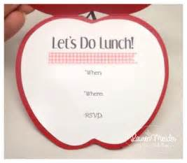 lunch invitation template cards my time my creations my stendence