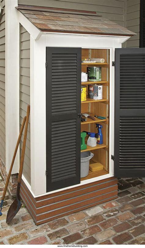 outdoor storage space 25 best outdoor storage ideas on backyard