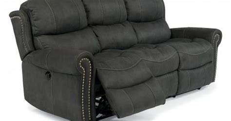 sofa with charging station walden fabric power reclining sofa by flexsteel via
