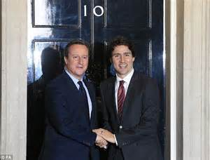 Justin Talks About Cameron by Canada S Prime Minister Justin Trudeau Makes David Cameron