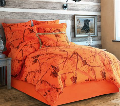 real tree comforter set realtree ap blaze by carstens lodge bedding