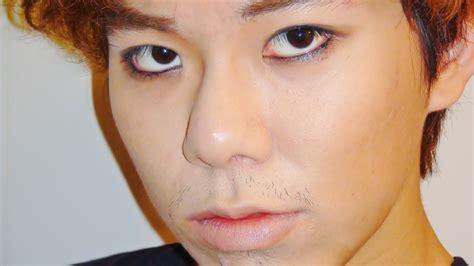 eyeliner tutorial boy updated k pop male eye liner look makeup tutorial