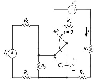 power dissipation pull up resistor q write an expression for the power dissipated in the resistor r 6 for t 0 express your
