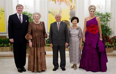 programma koninklijk huis staatsbezoek president singapore programma