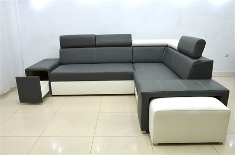 Genuine Leather Sofa Bed 100 Genuine Leather Corner Sofa Bed Bert With Headrets And Footstool Available In All Colours