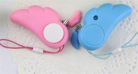 Termurah Guardian Wing Alarm Safety Keychain Gantungan Kunci Ha gantungan kunci alarm guardian wing blue white