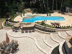 Pool Patio Design Projects Of Plenty Paver Patio Expansion