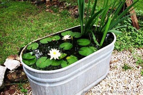 bathtub fish pond bathtub pond fish pond pinterest gardens backyard