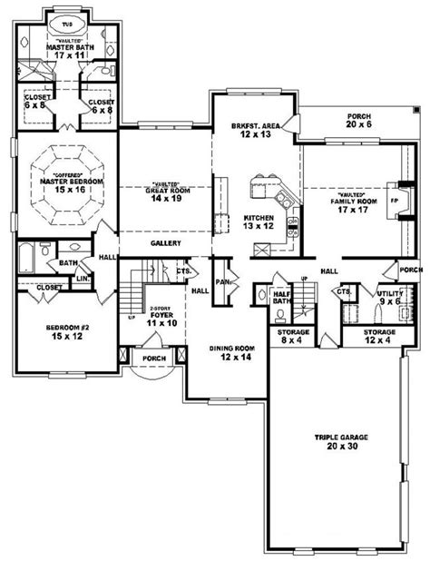 two story five bedroom house plans home and outdoor