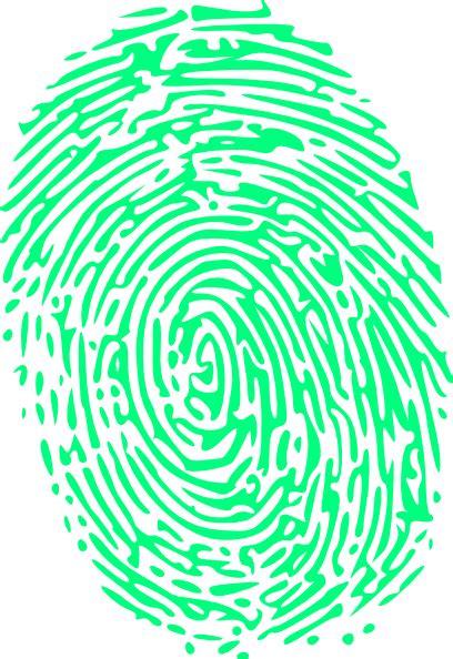 biometric art colorful clipart fingerprint pencil and in color