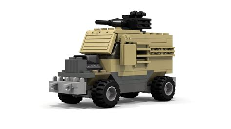 lego humvee tutorial moc lego military vehicle with gun tutorial youtube