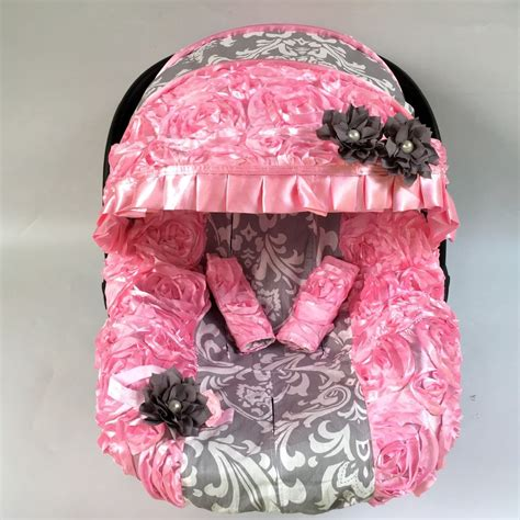infant car seat blanket 5 pcs baby car seat cover canopy blanket cover fit most