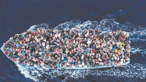 refugee c boat sea of chaos and despair for african refugees the australian