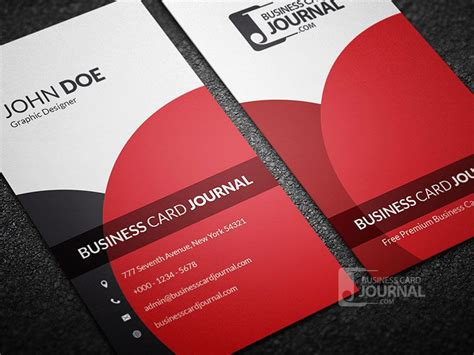Free Vertical Business Card Template Psd by 187 Http Businesscardjournal
