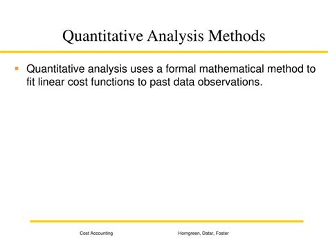 as data elements in quantitative and computational methods for the social sciences books ppt determining how costs behave powerpoint presentation