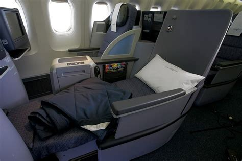 united airlines car seat flying business class coast to coast with flat beds wsj
