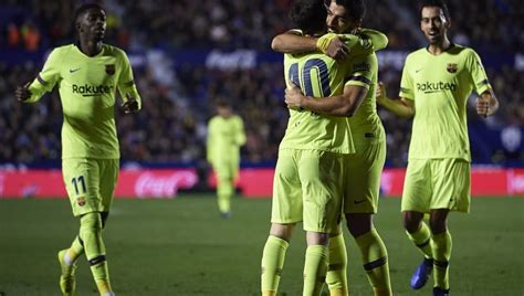 levante fc table la liga three things we learned from barcelona s 5 0 win