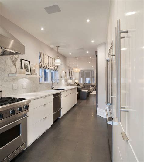 kitchen renovations using gray and white contemporary gray white galley kitchen kitchen design white galley kitchens