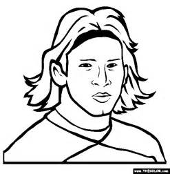 messi coloring pages free coloring pages of messi