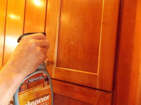 cleaner for wood cabinets cleaning your kitchen cabinets minwax