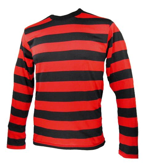 Small Stripe M L Xl Big Stripe L Xl Colored Top 31461 nyc sleeve menace stripe striped shirt black
