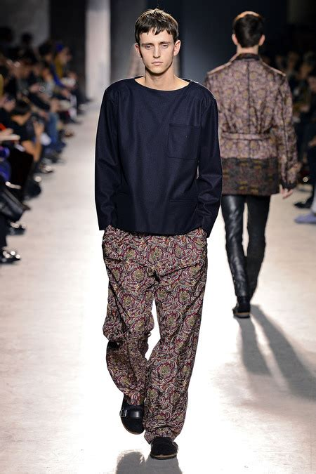 Menswear Chic At Dries Noten Gets A Twist By Wearing The Necktie Like A Harness Its A Snap To Capture The Spirit Without Breaking The Bank Fashiontribes Fashion by Nordstrom S Psychedelic Sleepover Dries