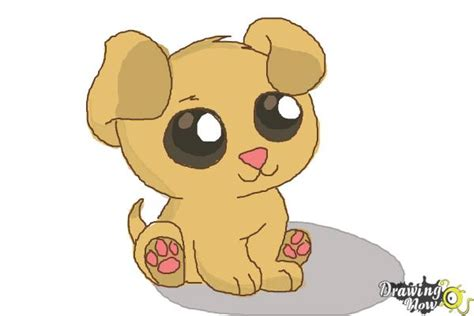 chibi puppy how to draw a chibi puppy drawingnow