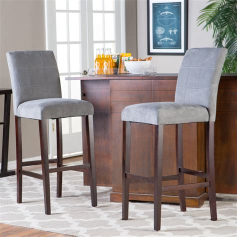 Colored Wooden Bar Stools by Cleaning Upholstered Bar Stools Yourself Traba Homes