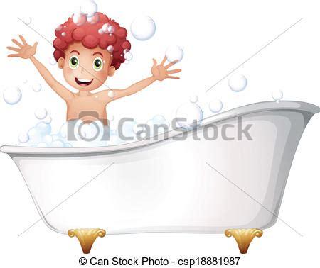 piktogramm badewanne vektor junge badewanne junger spielende abbildung
