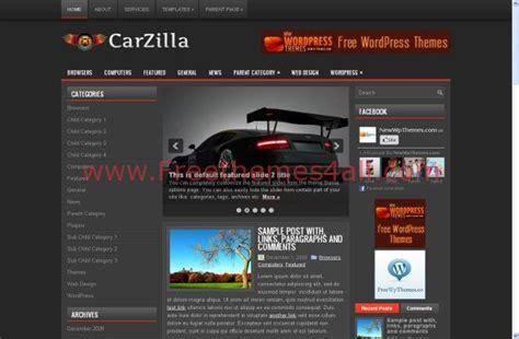 black themes wordpress free free wordpress cars grey news blog theme template
