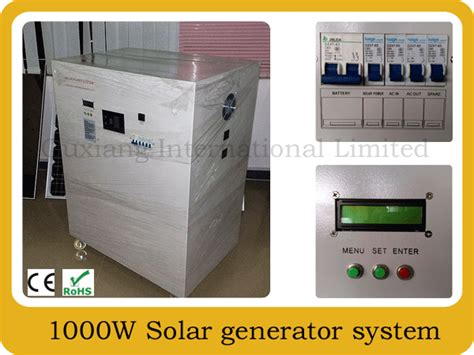 china home office portable solar power generator system