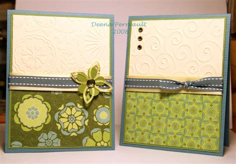 Handmade File Folder Designs - cuttlebug cards a creative need