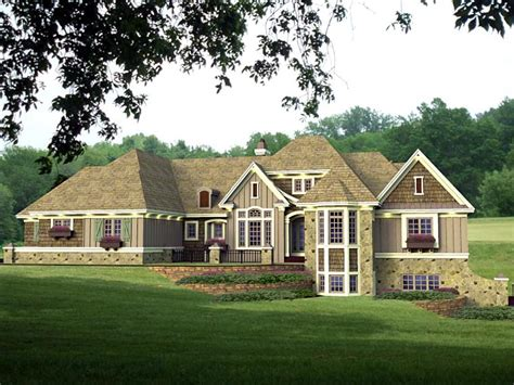 Walkout Basement Plans by House Plan 42642 At Familyhomeplans Com