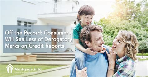 Derogatory Records The Record Consumers Will See Less Of Derogatory Marks On Credit Reports