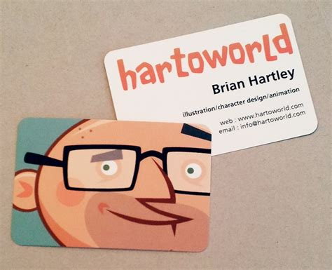 Animated Business Cards