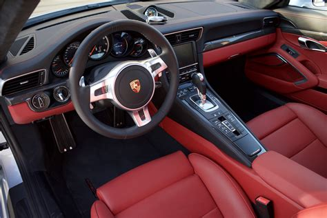 porsche 911 turbo s interior 2016 porsche 911 turbo s 214604