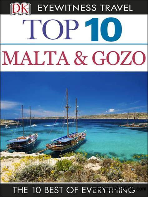 top 10 dublin eyewitness top 10 travel guide books top 10 malta and gozo eyewitness top 10 travel guides