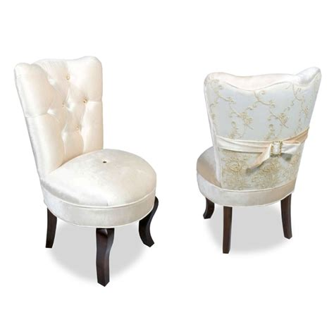 Sweetheart Vanity And Stool by Velvet Vanity Chair Glamorous Furniture Haute