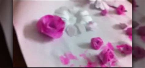 How To Fold Paper Roses - how to fold a simple paper origami 171 origami
