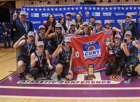 College Of Staten Island Letterhead college of staten island wins cunyac chionship new