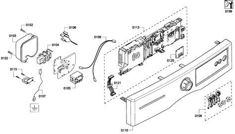 bosch dryer parts diagram bosch dryer parts model wtvc5330us09 sears partsdirect