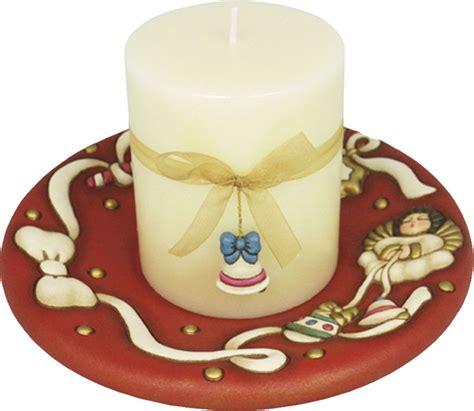 candela thun portacandela angelo rosso con candela thun