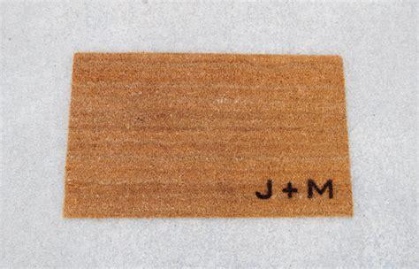 Doormats With Initials doormat welcome mat personalized with custom initials