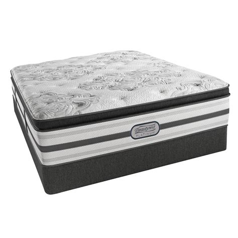 King Size Pillow Top Mattress Set beautyrest south king size luxury firm pillow top mattress set 700753252 9960 the home depot