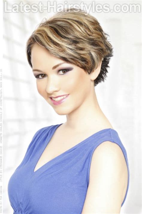 short 80 blown back hair styles women short hairstyle blow dry your hair back and away from your