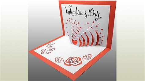 happy s day pop up card template s day pop up card tutorial