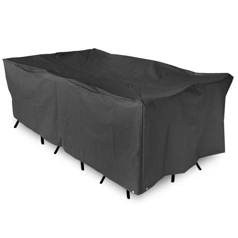 Garden Patio Furniture Set Cover Cube Waterproof Black Ebay Waterproof Outdoor Patio Furniture Covers